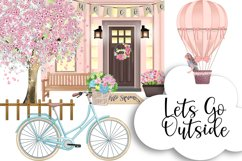 SPRING Clipart Planner FASHION Girl Clipart | Floral Planner Product Image 9