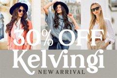Kelvingi Rodrige - Luxury Serif Font Product Image 2