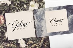 Web Font Atallya Script Product Image 6