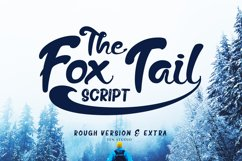 The Fox Tail - Font Duo&Extras Product Image 1