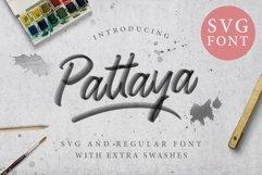Pattaya Script OpenType SVG Product Image 1