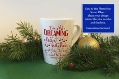 Christmas Mockup Bundle, Mug, Ornament, Flag, Xmas Mock-Ups Product Image 6