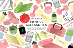 Fitness Cliparts Product Image 1