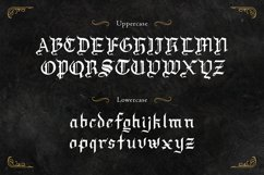 Draculie - Ghothic Blackletter Font Product Image 2