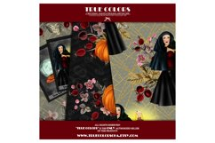 Halloween Digital Paper Pack Halloween Witch Product Image 3