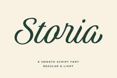 Storia Script Font Product Image 2