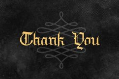 Draculie - Ghothic Blackletter Font Product Image 6