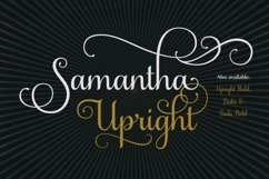 Samantha Script Upright Product Image 1