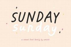 Sunday Sunday - Handwritten Font Family Product Image 1