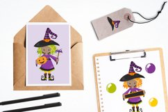 Little Witches graphics and illustrations Product Image 4