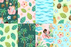 Summer Digital Papers Product Image 3
