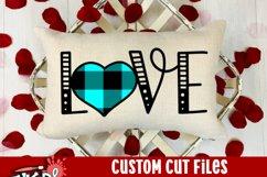 Love Buffalo Heart Valentine SVG Product Image 3