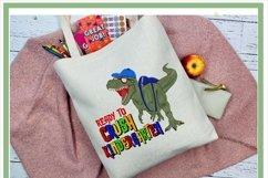 T-Rex Dinosaur Ready To Crush Kindergarten Sublimation Product Image 2