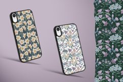 Patterns with wildflowers, cat, moth, dragonfly Product Image 4