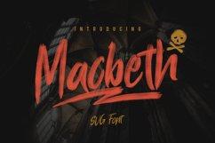 Macbeth Typeface - SVG Font Product Image 1