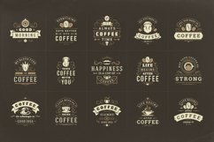 Coffee Quotes and Phrases set Product Image 2