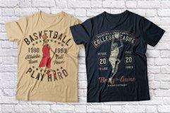 Basketball skeleton 10 t-shirts set Product Image 2