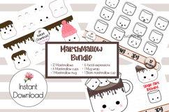 Kawaii Marshmallow Cups SVG BUNDLE! Product Image 1