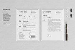 Thanos Resume with Cover Letter Professional Template Product Image 2