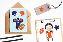 American Football graphics and illustrations Product Image 4