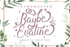 Baybe Evaline Product Image 1
