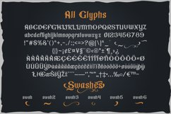 Gorilla beer - gothic typeface Product Image 3