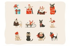 Christmas dogs set Product Image 2