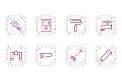 Set Of Construction Icons Product Image 1