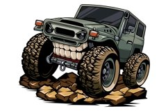 classic jeep tshirt design Product Image 1