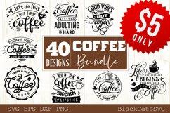 Coffee SVG bundle 40 designs Coffee SVG bundle Product Image 1