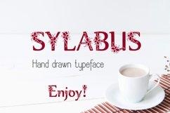 Sylabus font Product Image 2