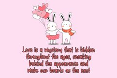 Bunny Story Handwritten Font Product Image 3