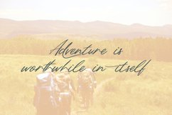 Northern Forest   Handwritten Signature Typeface Product Image 4