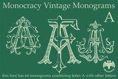 Monocracy Vintage Monograms Pack DA Product Image 6