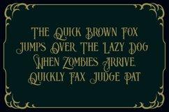 Blackphanter display font Product Image 2
