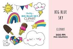 Blue Sky Cliaprt, Rainbow, Shooting Star, Storm cloud, sun Product Image 1