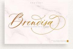 Brendisa Script Product Image 1