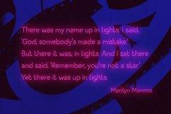 Night Light Neon Font - square Product Image 6