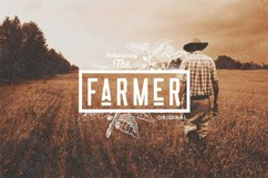 Nomads -The Farmer Original Typeface Product Image 4