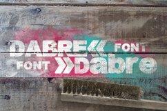 Dabre Font Product Image 1