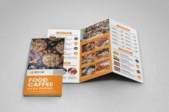 Food Menu Trifold Brochure v2 Product Image 2