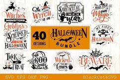 Halloween SVG bundle 40 designs vol 2 Product Image 3