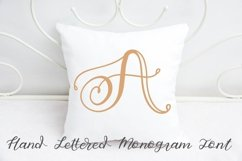 Hand Lettered Monogram Font - Perfect For Personalization! Product Image 3