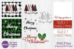 Christmas Printable Bundle with 2 Bonus SVG Files! Product Image 1