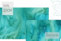 17 Huge Seamless Green Watercolor Textures Product Image 4
