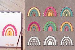 Rainbow love - Valentine Illustrations Product Image 2