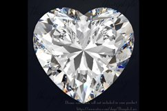 254 Real Heart Diamond Clip arts PNG Transparent Valentine Product Image 3