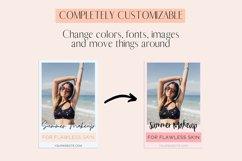 Blue & Peach Pinterest Templates Product Image 4