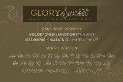 Glory Sunset Luxury Font Duo Product Image 2