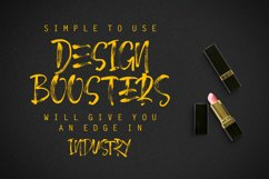 December Brush Font Product Image 3